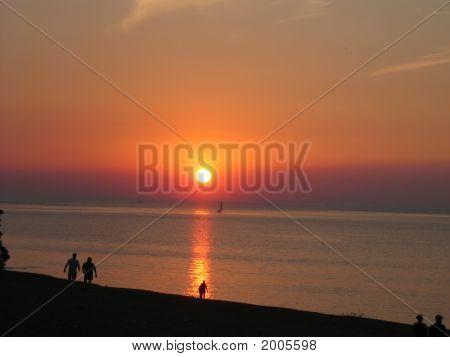 Sunset On Lake Ontario 2