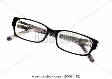 Eyeglasses isolated