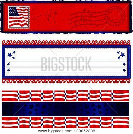 Banners americana