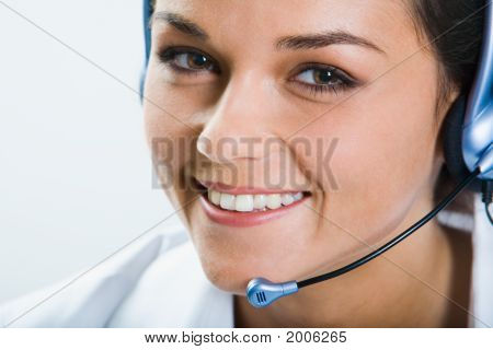Friendly Telephone Operator