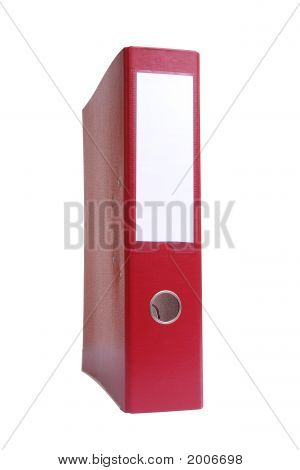 Red Ring Binder