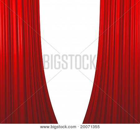 Red Curtain Opening