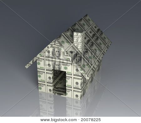 Dollar toy house
