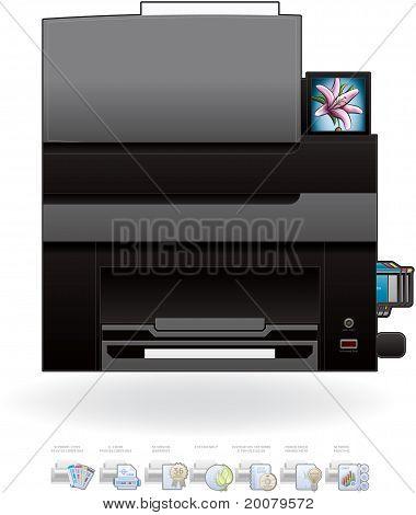 Büro Inkjet-Drucker/Kopierer