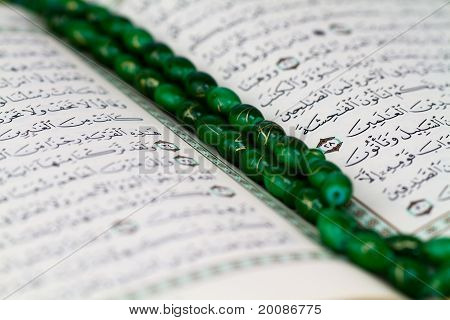 Holy Quran open