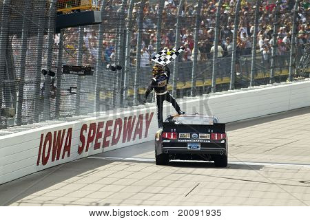 Nascar:  May 22 The Inaugural Iowa John Deere Dealers 250