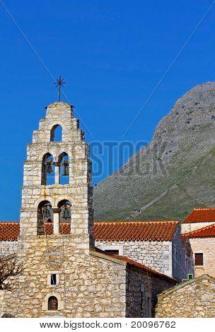 Areopoli village of Mani, Greece