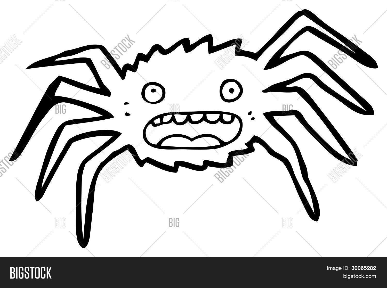 Immagine e foto cartone animato ragno di bigstock