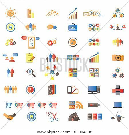 Web Icons, Internet & Website Icons, Signs And Symbols