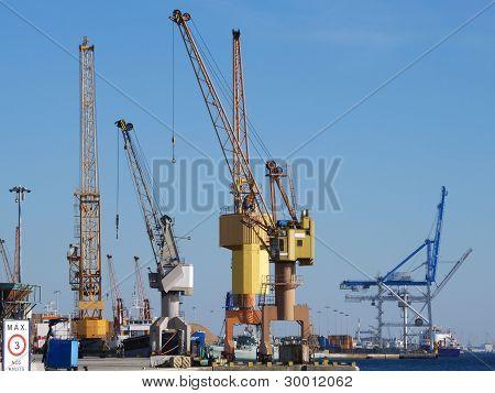 Harbor and Port Cranes