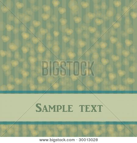 Abstract vector with banner for text