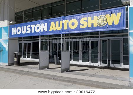 Houston Autoshow Entrance