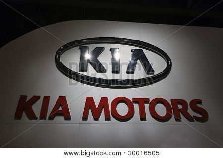 Kia Logo Sign