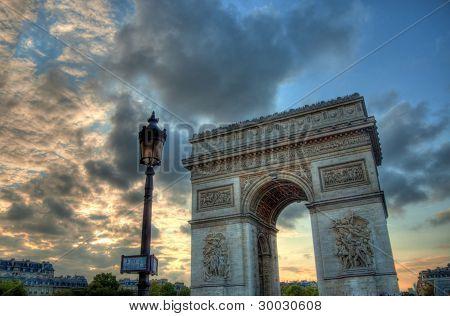 Triumphal gate - Paris