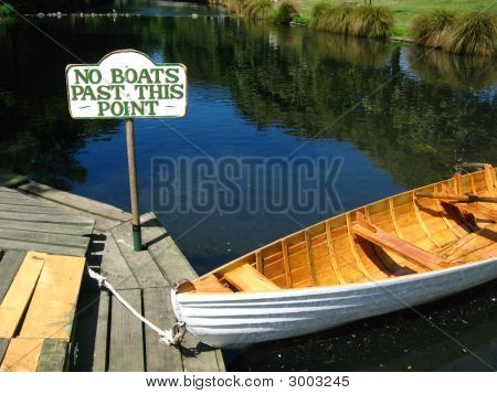 No Boats Allowed