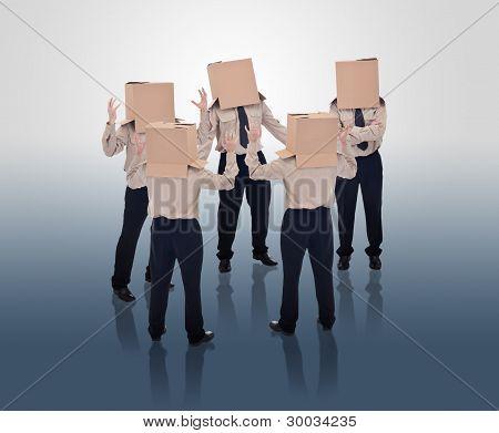 Brain Storming Businessmen