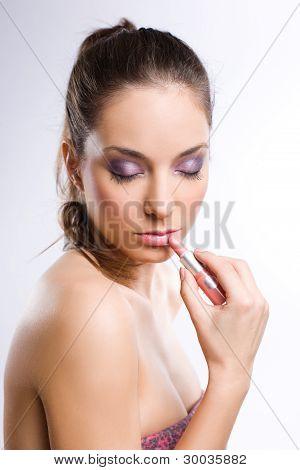I love my lipstick.