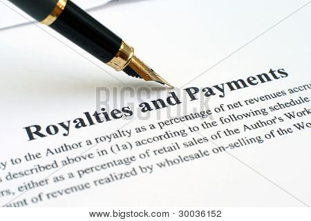 Royalties And Payments