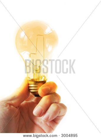 Electric Bulb Hand