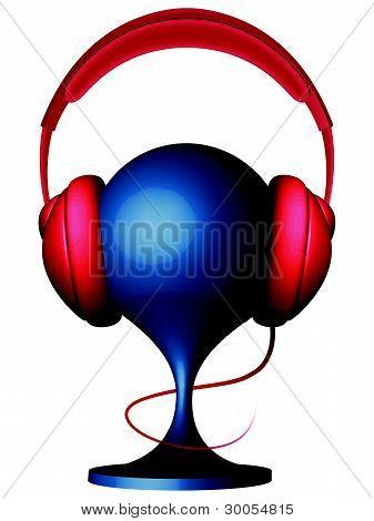 Headphones On Support