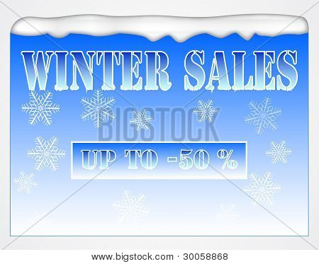 Winter Sales Board