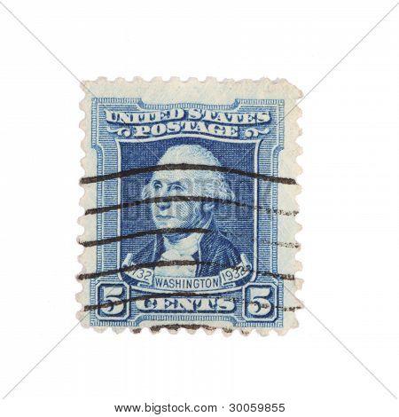 Washington Postage Stamp 1932