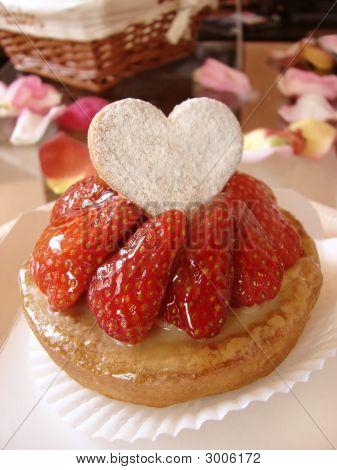 Strawberry Love Pie