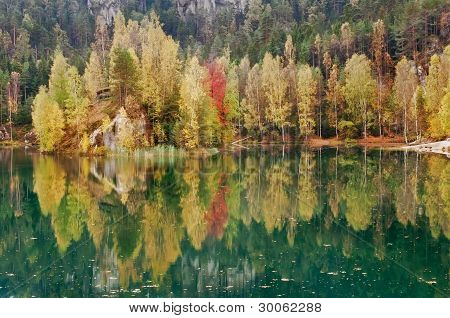Beautiful Autumn Lake