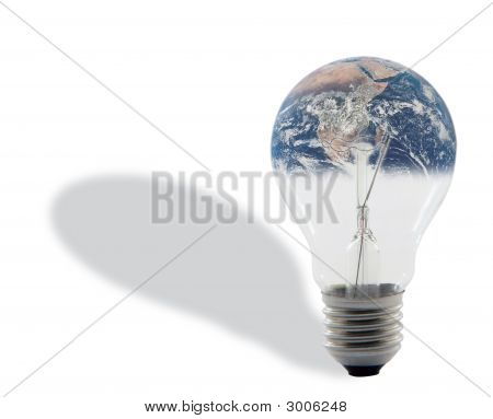 Bulb And Earth