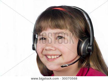 The Child In The Headset.