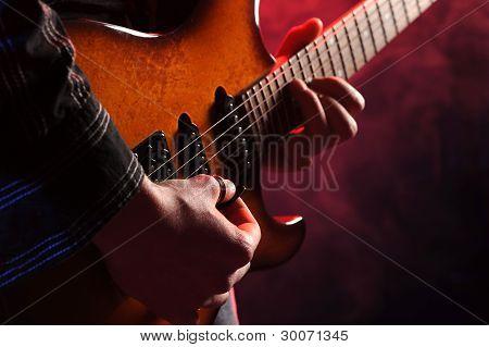 Guitarist Rock Live