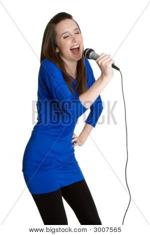 Young Female Entertainer