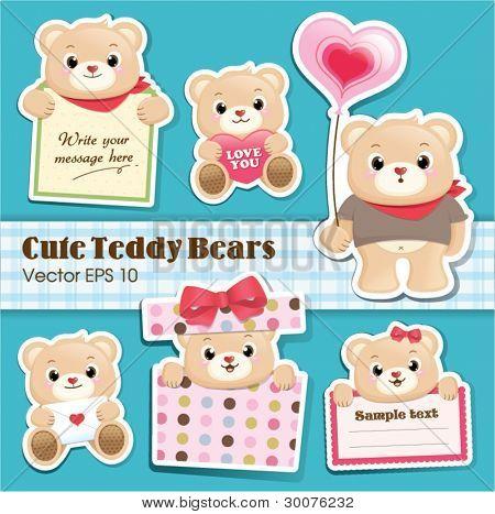 cute teddy bears collection