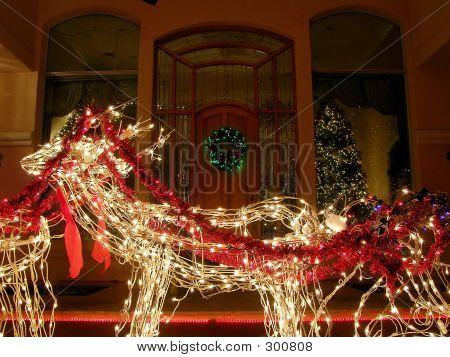 Reindeer Entryway