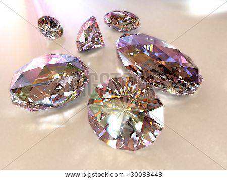 diamonds - path included