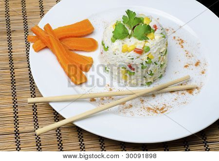 Rice Cooked