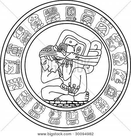 Vector símbolo de Maya