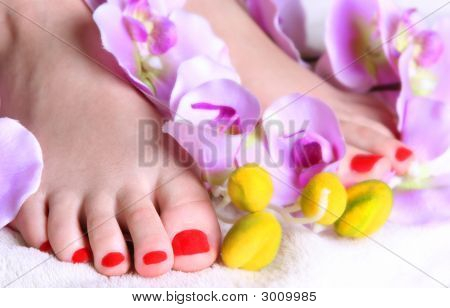 Fingers In Flowers