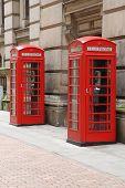 image of west midlands  - Birmingham red telephone boxes - JPG