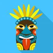 Culture Idol Icon. Flat Illustration Of Culture Idol Icon For Web Design poster