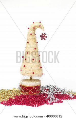 Árbol de Navidad de Sisal