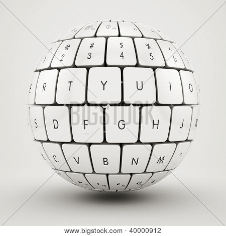 keyboard sphere