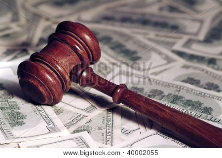 Gavel & Money.