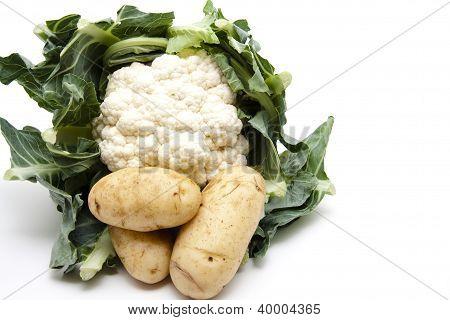 Potatos with Cauliflower