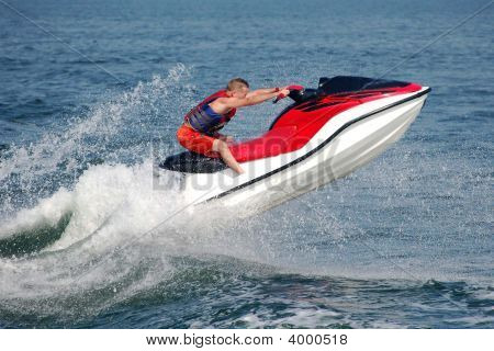 Jet Ski On The Bay