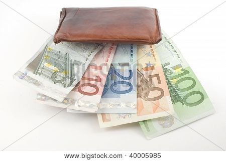 Wallet Eating Money