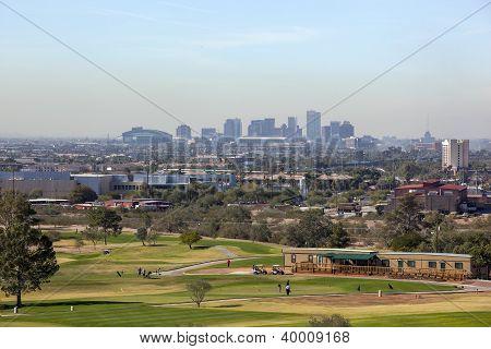 Skyline Of Downtown Phoenix, Az