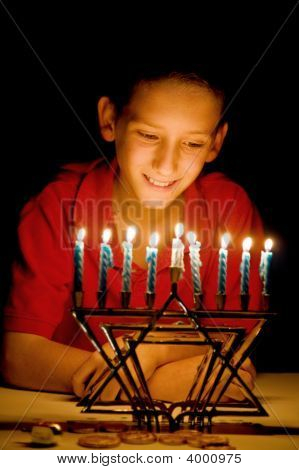 The Menorah'S Glow
