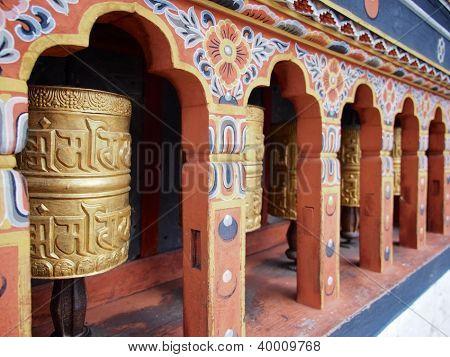 Bhutanese temple