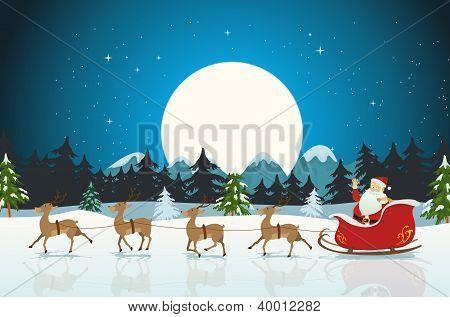 Frohe Weihnachten-card